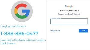 Google Support- Google Account Recovery Number 1-888-886-0477